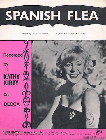 "Image for ""Spanish Flea, recorded by Kathy Kirby"""