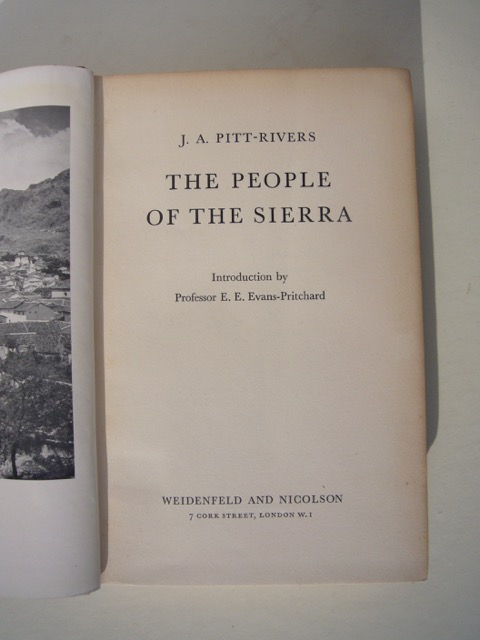 Image for The People Of The Sierra