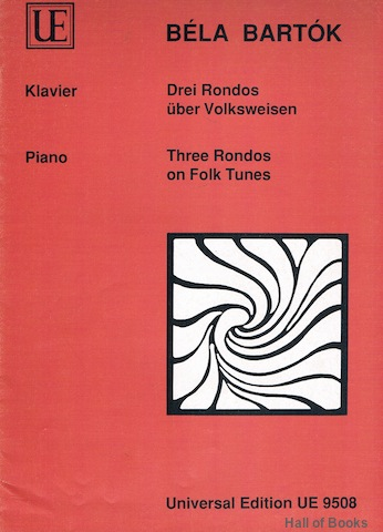 Image for Drei Rondos uber Volksweisen: Three Rondos on Folk Tunes. Piano Solo