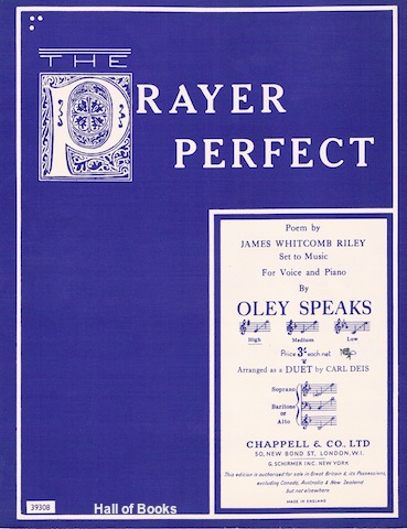 Image for The Prayer Perfect