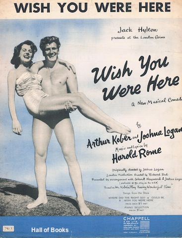 """Wish You Were Here, from Wish You Here: A New Music Comedy"""
