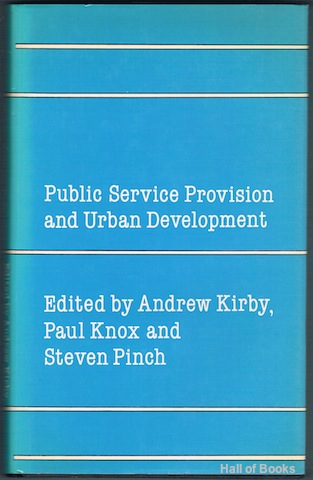 Image for Public Service Provision And Urban Development