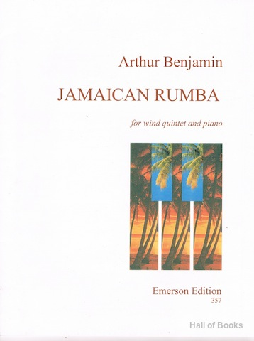Image for Jamaican Rumba for wind quintet and piano (full score and parts)