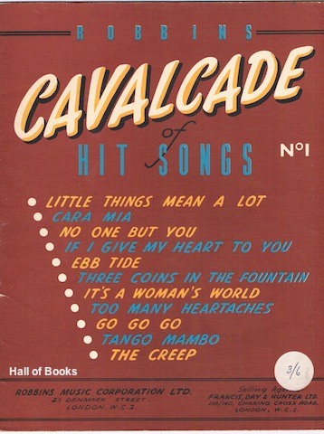 Image for Robbins Cavalcade Of Hit Songs No 1
