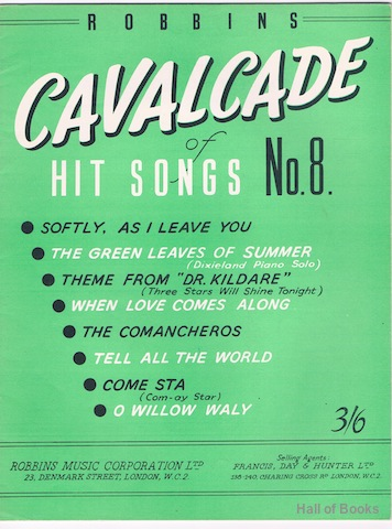 Image for Robbins Cavalcade Of Hit Songs No 8