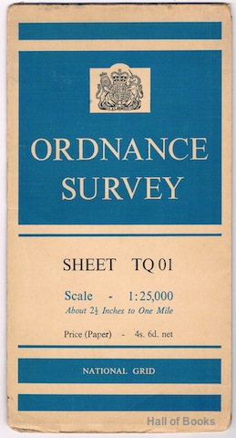 Image for Ordnance Survey Sheet TQ 01 (Pathfinder)