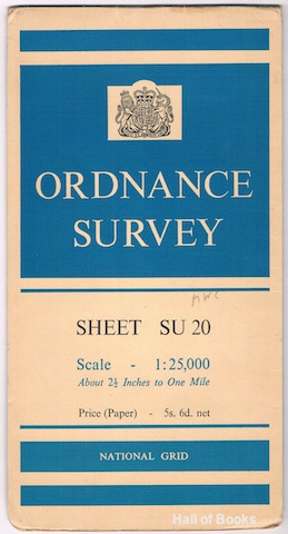 Image for Ordnance Survey Sheet SU 20 (Pathfinder)