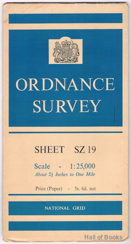 Image for Ordnance Survey Sheet SZ 19 (Pathfinder)