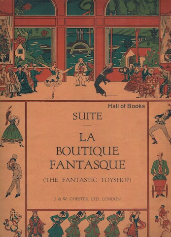 Image for Suite From La Boutique Fantasque (The Fantastic Toyshop). Ballet In One Act. For Solo Piano