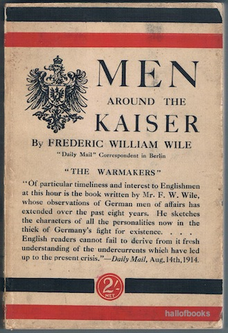 Image for Men Around The Kaiser