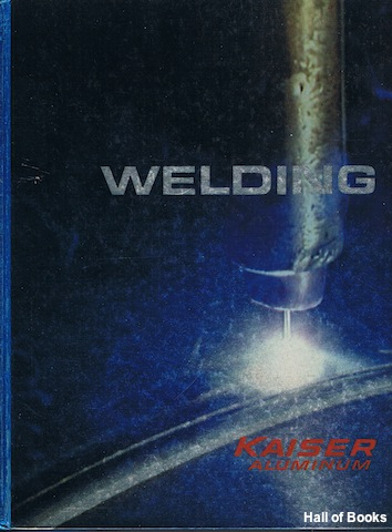 Image for Welding Kaiser Aluminum