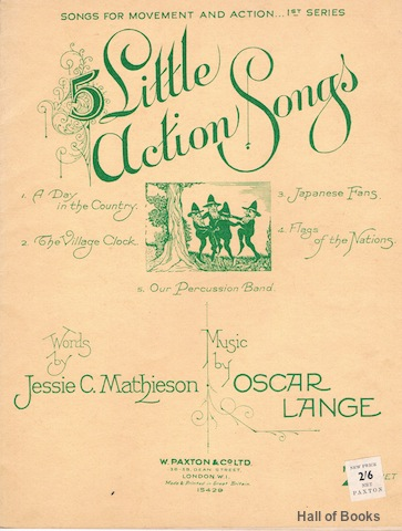 Image for 5 Little Action Songs