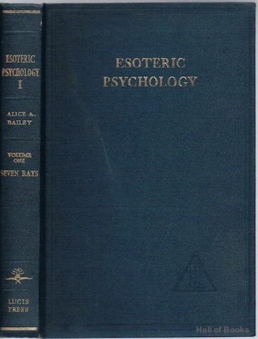 Image for Esoteric Psychology. Volume I: A Treatise On The Seven Rays