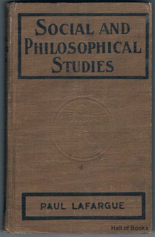 Image for Social and Philosophical Studies