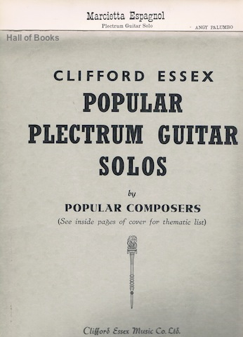 Image for Marcietta Espagnol. (Clifford Essex Popular Plectrum Guitar Solos)