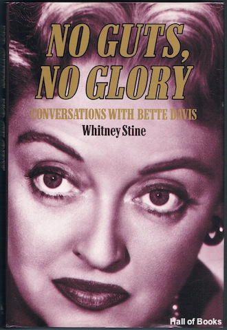 "Image for ""No Guts, No Glory: Conversations With Bette Davis"""