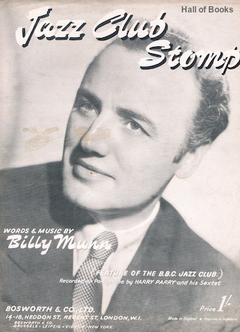 Image for Jazz Club Stomp: Feature Of The B.B.C Jazz Club. Recorded by Harry Parry and His Sextet