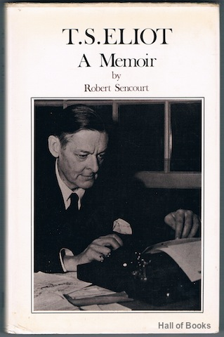Image for T. S. Eliot: A Memoir