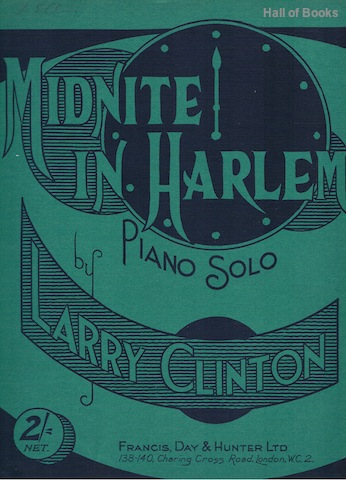 Image for Midnite In Harlem: Piano Solo