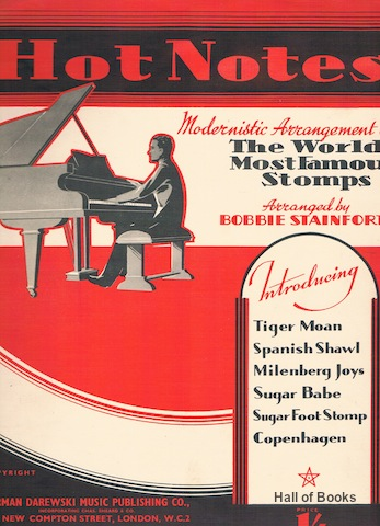 Image for Hot Notes: Modernistic Arrangements Of The World's Most Famous Stomps