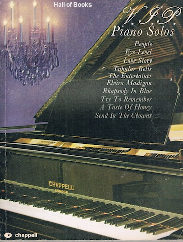 Image for V. J. P. Piano Solos. Volume One