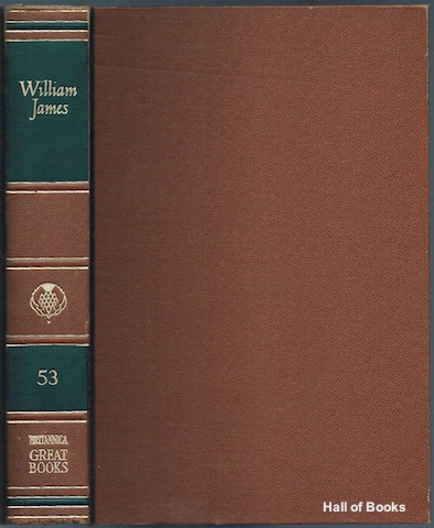 Image for Great Books Of The Western World 53: William James.  The Principles of Psychology
