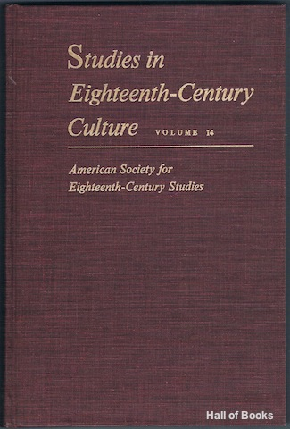 Image for Studies In Eighteenth-Century Culture: Volume 14