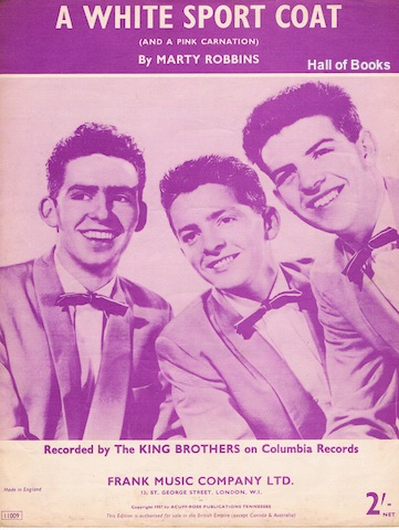 Image for A White Sport Coat (And A Pink Carnation): Recorded By The King Brothers