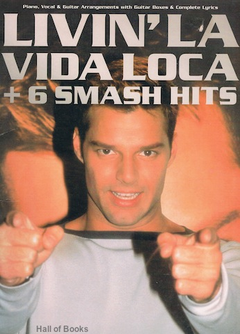 "Image for ""Livin' La Vida Loca + 6 Smash Hits. Piano, Vocal And Guitar"""