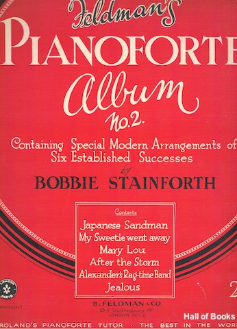 Image for Feldman's Pianoforte Album No. 2: Containing Special Modern Arrangements Of Six Established Successes