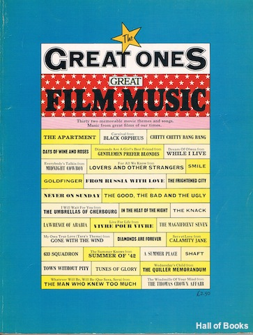 Image for The Great Ones: Great Film Music. Thirty Two Memorable Movie Themes And Songs