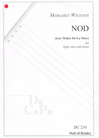 Image for Nod: For High Voice And Piano