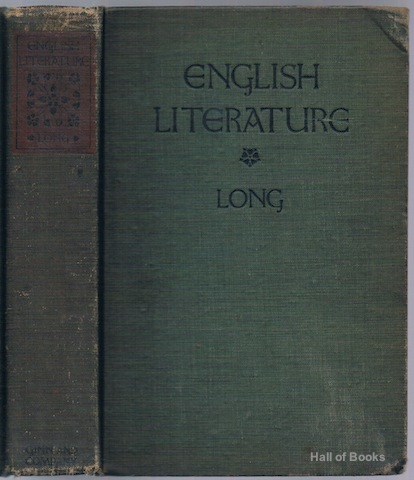 Image for English Literature: Its History And Its Significance For The Life Of The English-Speaking World. A Text-Book For Schools
