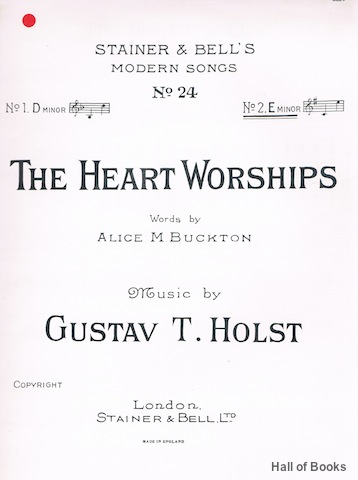 Image for The Heart Worships. No.2 E Minor