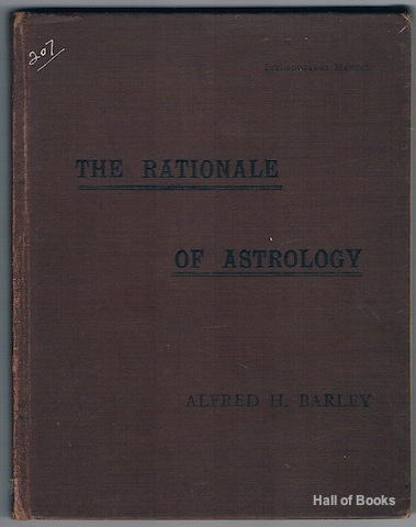 Image for The Rationale Of Astrology