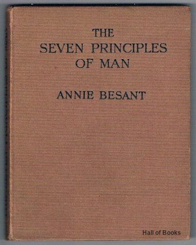 Image for The Seven Principles Of Man