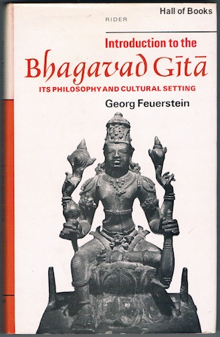 Image for Introduction To The Bhagavad-Gita: Its Philosophy And Cultural Setting