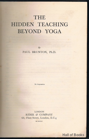 Image for The Hidden Teaching Beyond Yoga