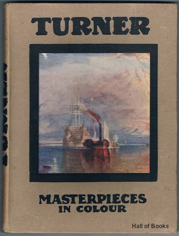 Image for Turner: Five Letters And A Postscript (Masterpieces In Colour)