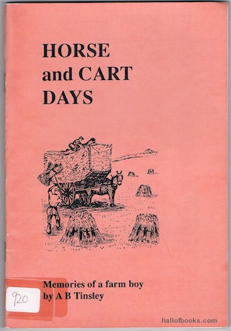 Image for Horse And Cart Days: Memories Of A Farm Boy