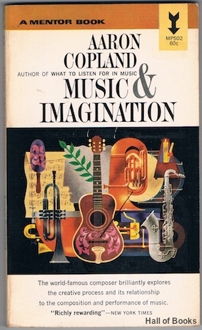 Image for Music and Imagination: The Charles Eliot Norton Lectures 1951-1952