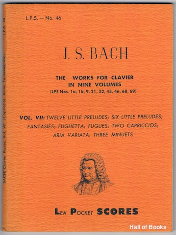 The Works For Clavier In Nine Volumes: Vol. VII