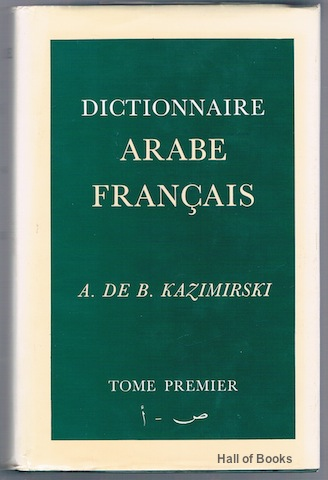 "Image for ""Dictionnaire Arabe-Francais, Complete In Two Volumes"""