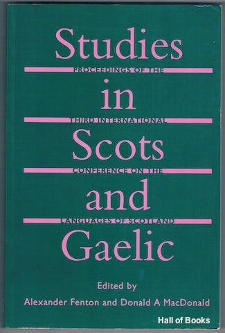 Image for Studies In Scots And Gaelic: Proceedings Of The Third International Conference On The Languages Of Scotland