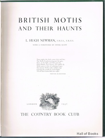 Image for British Moths And Their Haunts