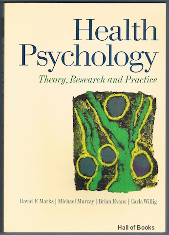 "Image for ""Health Psychology: Theory, Research And Practice"""