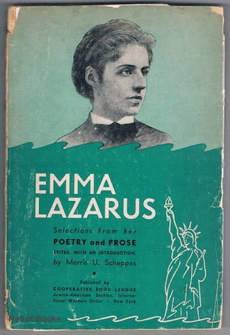 Image for Emma Lazarus: Selections From Her Poetry And Prose