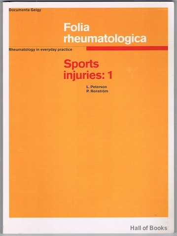 Image for Sports Injuries 1: Their Prevention And Treatment (Folia Rheumatologica)