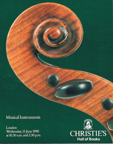 Image for Musical Instruments. Wednesday 13th June 1990