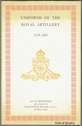 Image for Uniforms Of The Royal Artillery 1716-1966